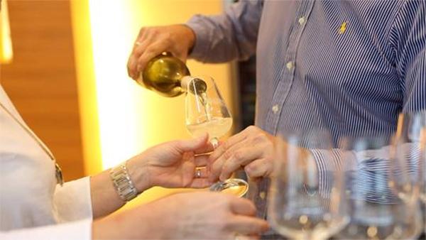 Weinverkostung am Weingut Goldenits Richard