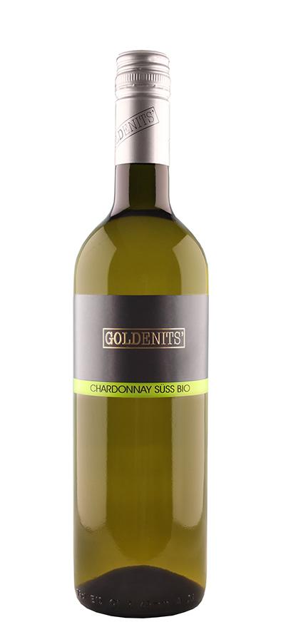 Goldenits Weinflasche Chardonnay süß