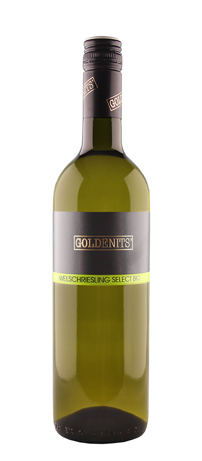 Goldenits Weinflasche Welschriesling Select