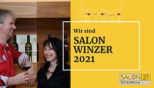Salon Österreich Wein Goldenits Richard und Anita